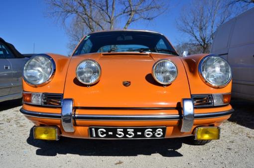 Porsche 911T Targa (front)