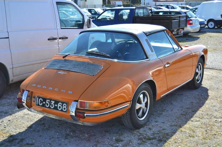 Porsche 911T Targa (rear)