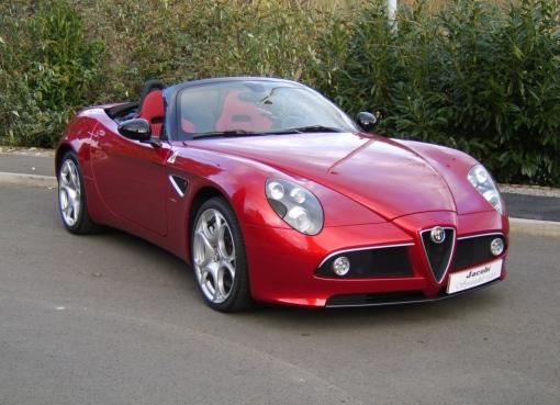 2010 Alfa Romeo Spider