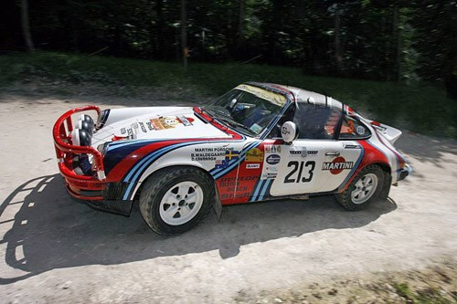 1977 Porche 911 Carrera Rally