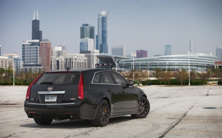 chicago-2011-cadillac-cts-v-sport-wagon-rear-three-quarters