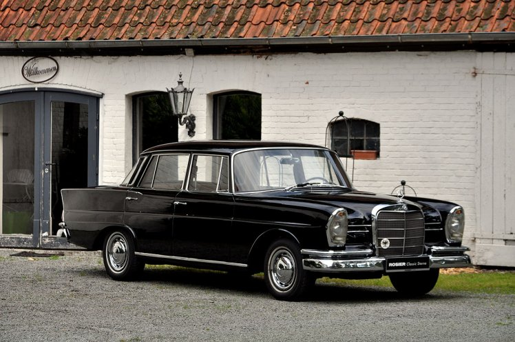 1965 Mercedes 220Sb Heckfloose