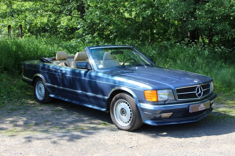 1982 Mercedes Benz 5000 SEC Convertible