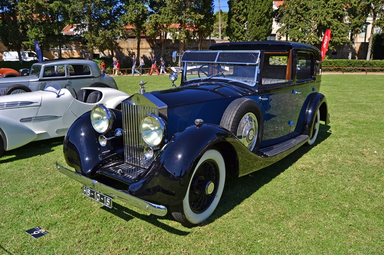 1937 Rolls Royce 25/30 Windovers