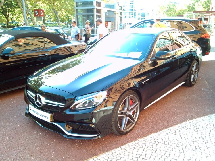 Mercedes Benz C63S