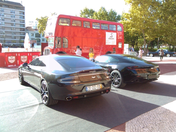 Aston Martin DB11 and Rapide