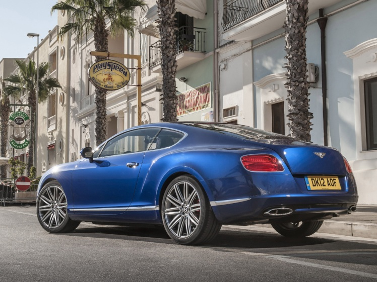2012-2014 Bentley Continental GT Speed