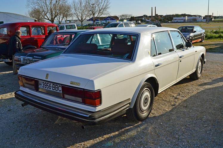 Rolls Royce Silver Spur (Rear)