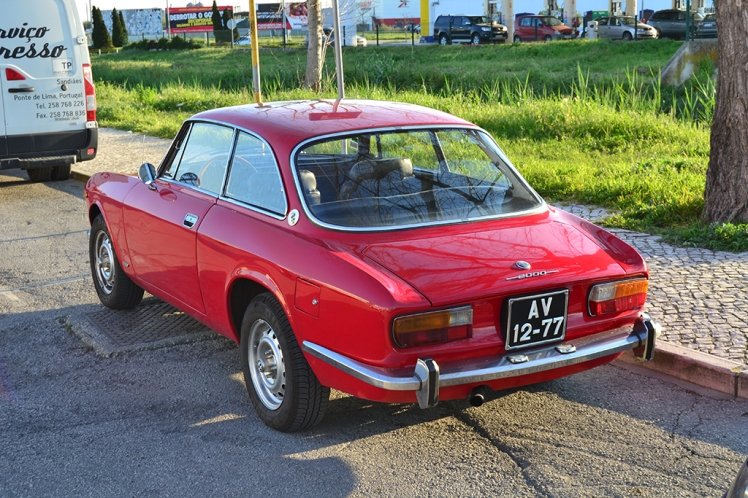 Alfa Romeo 2000 GTV (Rear)