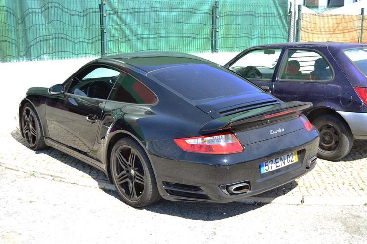 Porsche 991 Turbo (Rear)