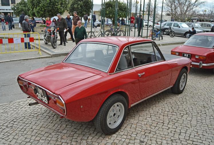 Lancia Fulvia (Rear)