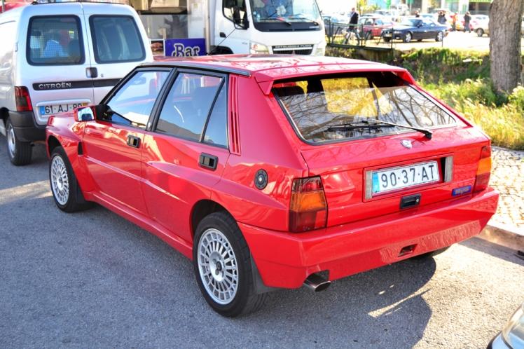 Lancia Delta Integrale (Rear)