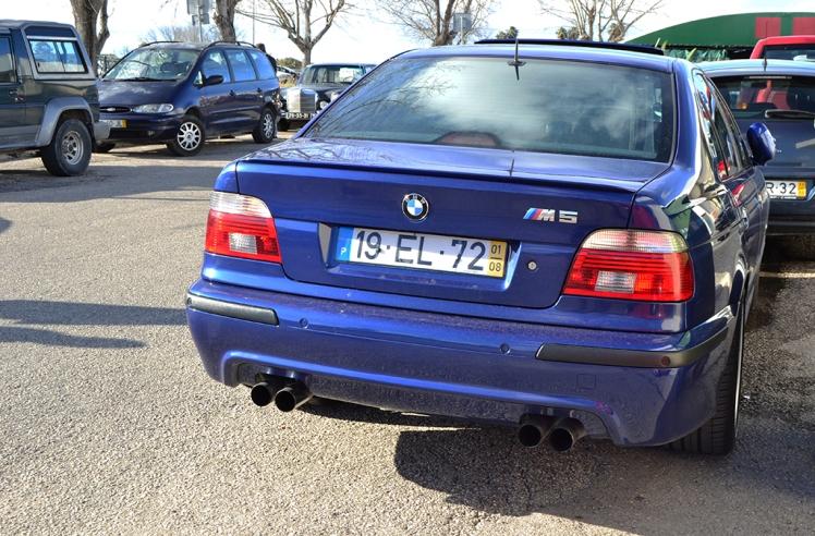BMW M5 E39 (Rear)
