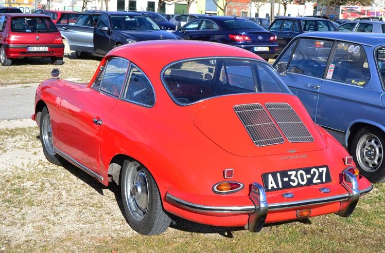 Porsche 356 (Rear)