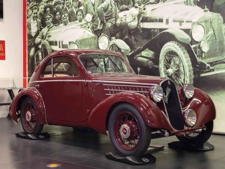 1935 Fiat508 CS 'Balilla' Berlinetta Aerodinamica