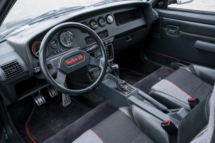 Peugeot 205 T16 (interior)