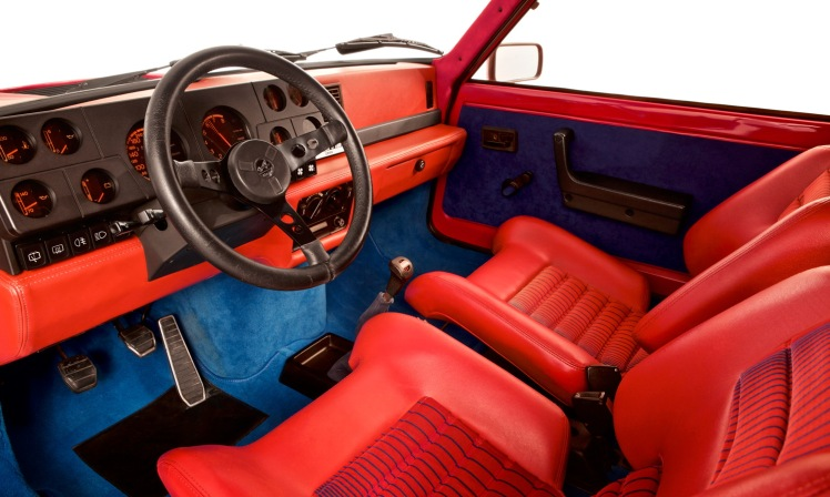 Renault 5 Turbo (interior)
