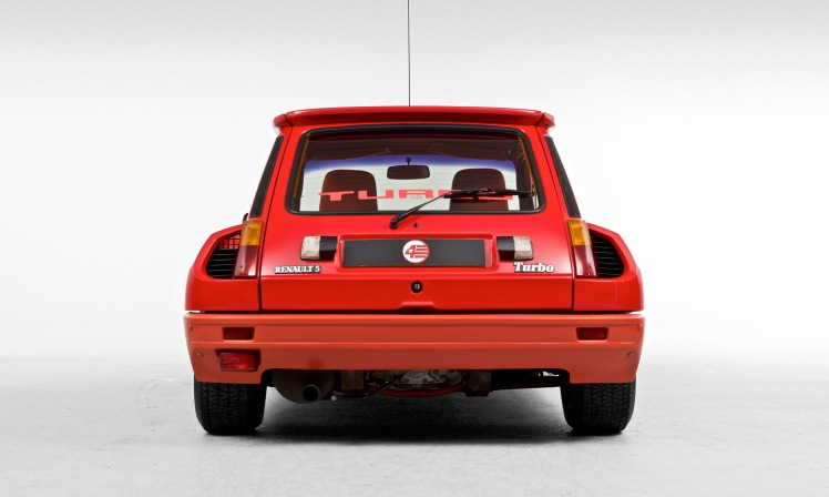 Renault 5 Turbo (rear hatch)