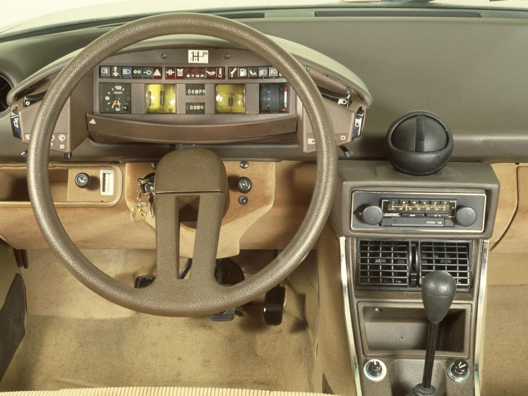 Citroen CX dashboard