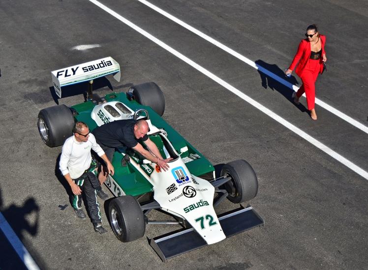 Williams FW07B Alan Jones