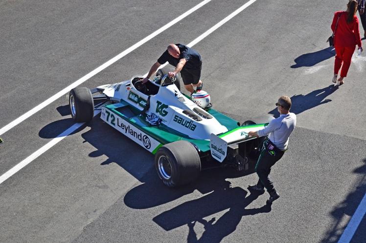 Williams FW07B (ex-Alan Jones)