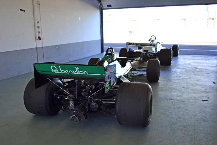Tyrrell 012 and Williams FW07B