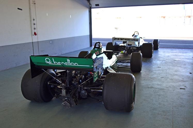 Tyrrell 012 andWilliams FW07B