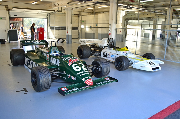 Tyrrell 011 and Brabham BT37