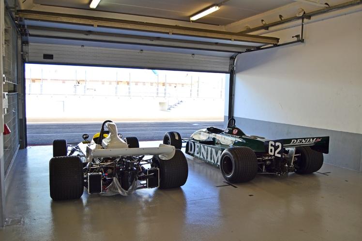 Tyrrell 011 and Brabham BT37