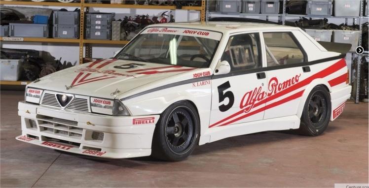 1986 Alfa Romeo 75 Turbo Evoluzione Group A