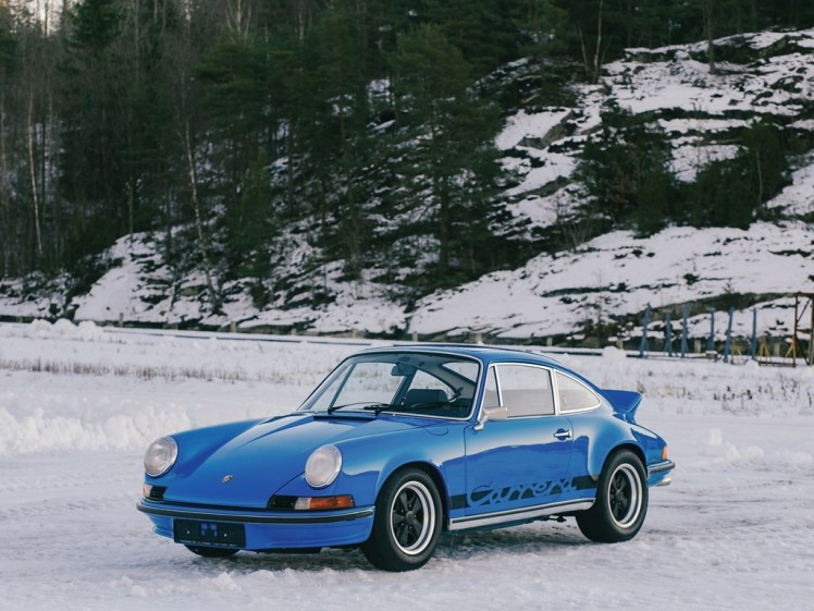 1973 porsche carrera rs 2.7 touring