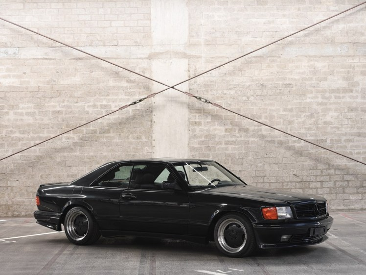 1989 mercedes benz 560 sec amg 6.0 wide body