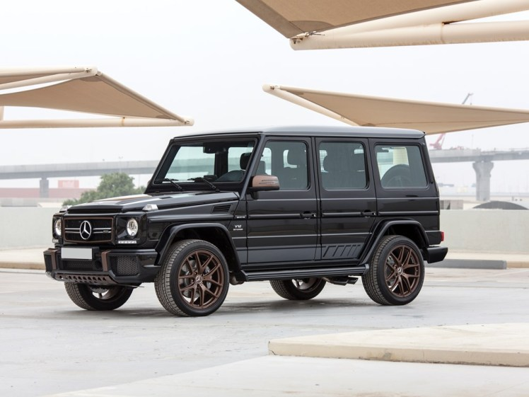 2018 mercedes benz g65 amg final edition