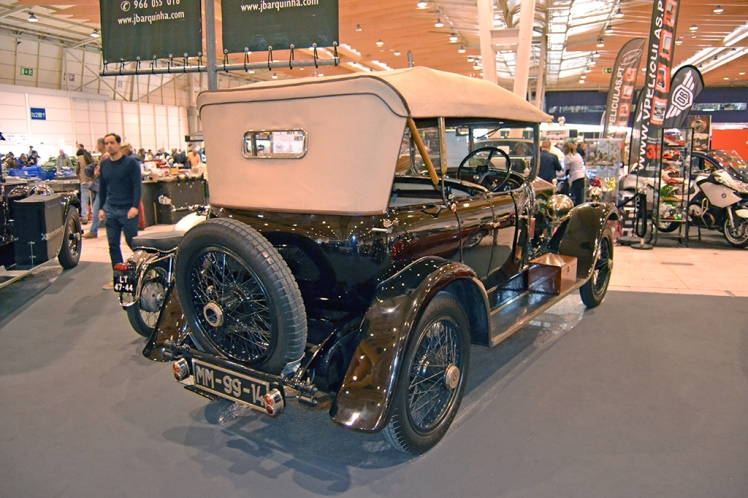 1923 Rolls Royce (rear)
