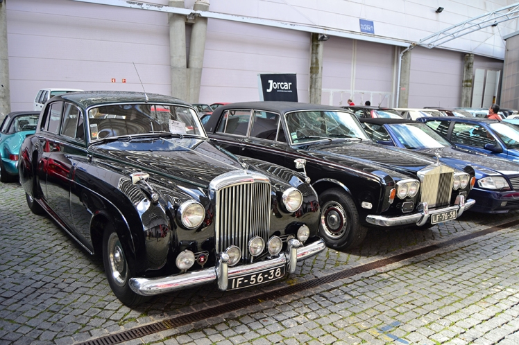 Bentley S1 & Rolls Royce Silver Shadow