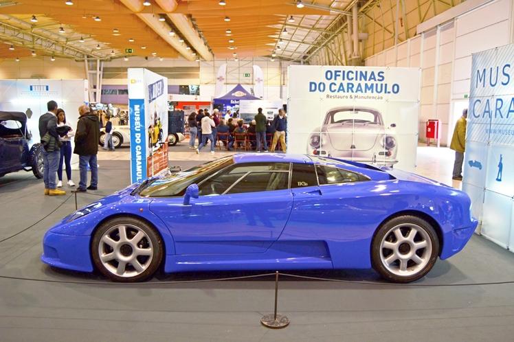 Bugatti EB110 (profile)