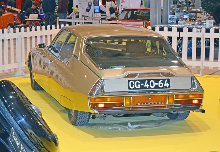 Citroen SM (rear)
