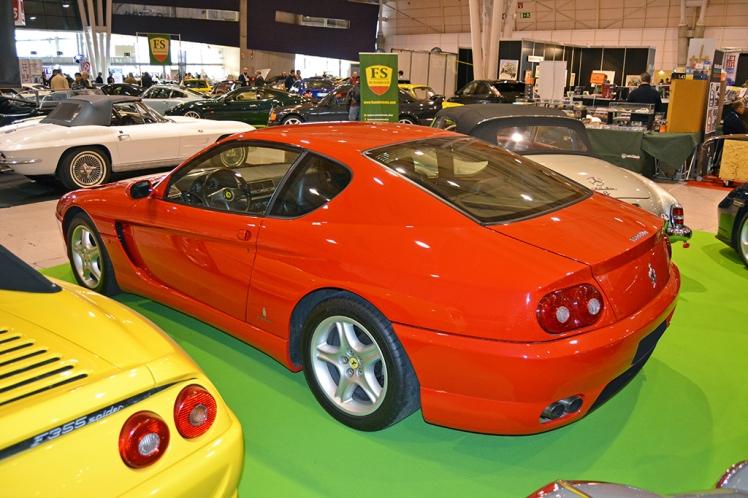 Ferrari 456 (rear)