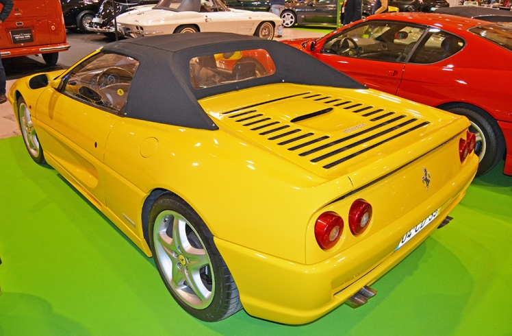 Ferrari F355 Spider (rear)
