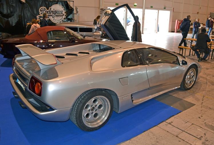 Lamborghini Diablo (rear)