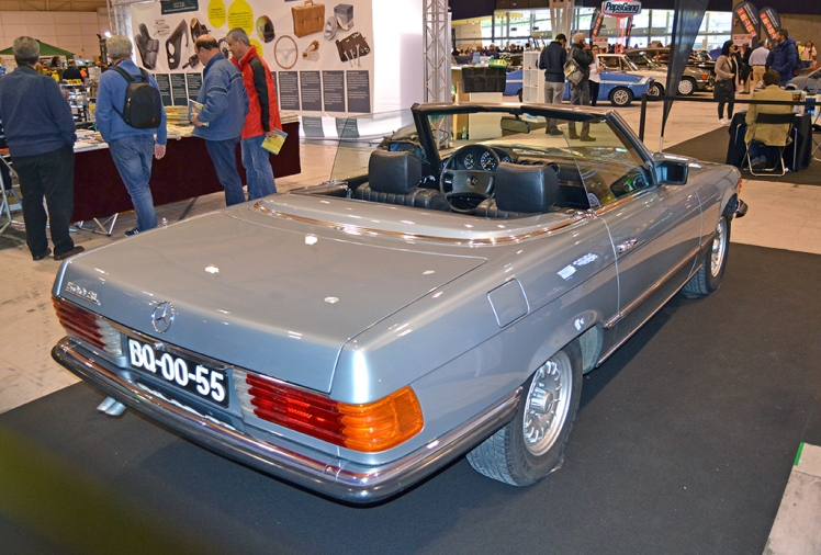 Mercedes Benz 280SL R107 (rear)