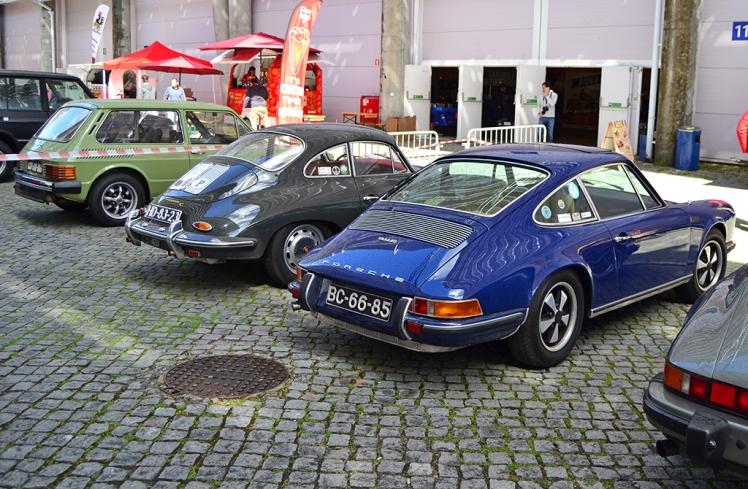 Porsche 911E & 356 (rear)