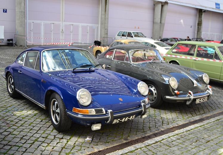Porsche 911E & 356