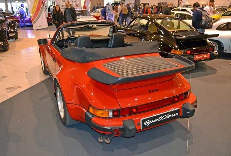 Porsche 930 Turbo Cabriolet (rear)