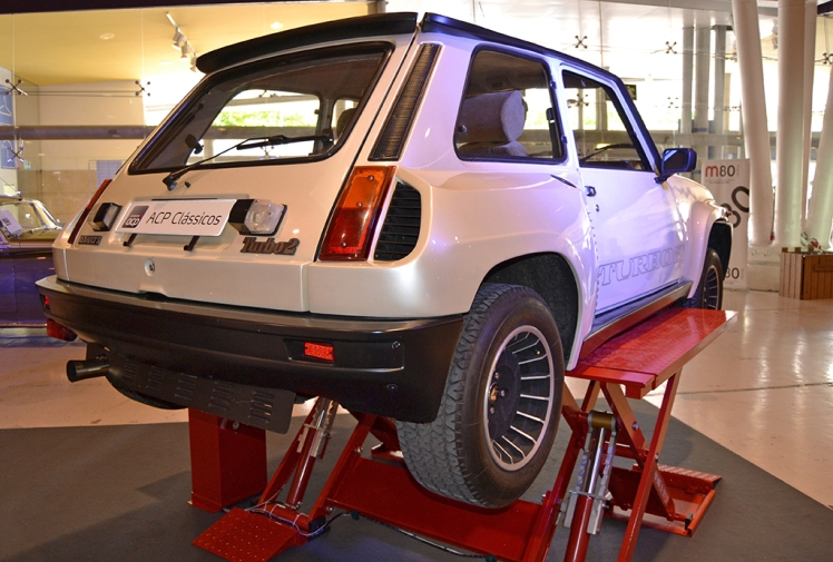Renault 5 Turbo 2 (rear)