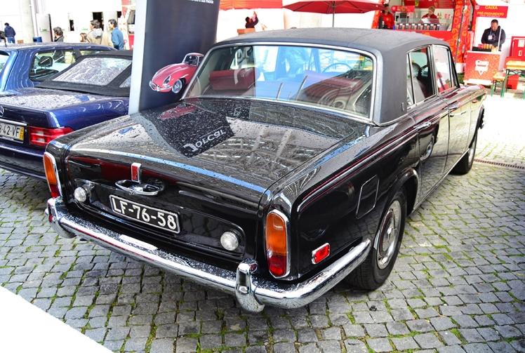 Rolls Royce SIlver Sahdow LWB Series I (rear)