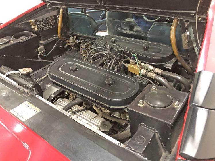 Lamborghini Urraco P250 (engine)