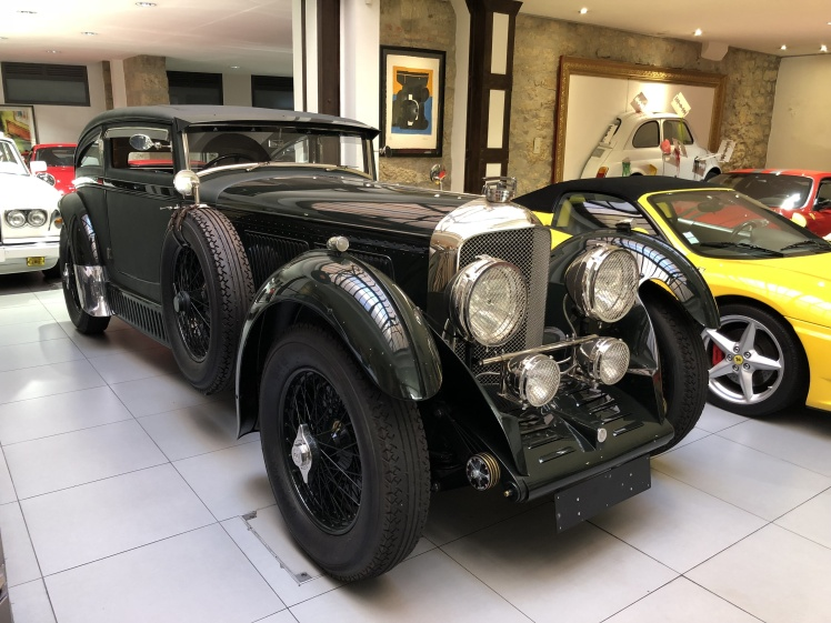 1930 Bentley Blue Train
