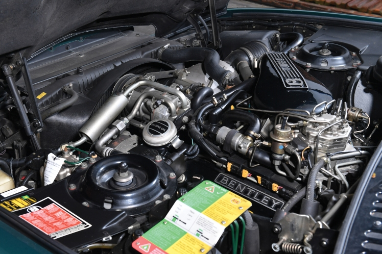 1991 Bentley Continental R (engine)