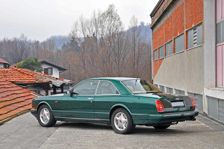 1991 Bentley Continental R (rear)